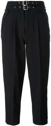 Diesel high-waisted trousers $231.55 thestylecure.com