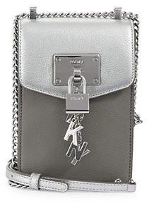 DKNY Elisesa Leather Crossbody Bag