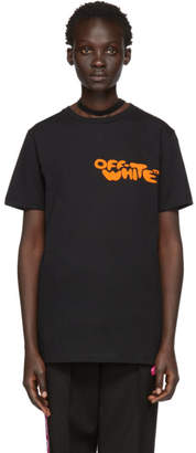 Off-White Black Bubble Font T-Shirt