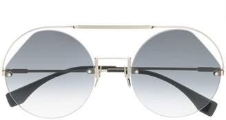 Fendi Eyewear Ribbons & Crystals sunglasses