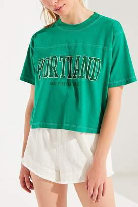 Truly Madly Deeply Keep Portland Green Tee