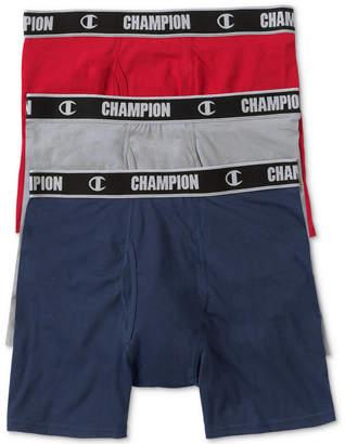 Champion Men's 3-Pk. Performance Boxer Briefs