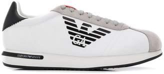 Emporio Armani printed logo sneakers