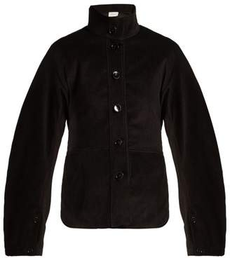 Lemaire High-collar cotton-corduroy jacket