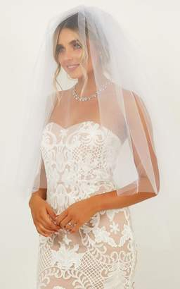 Showpo Feel The Love Veil In White Accessories