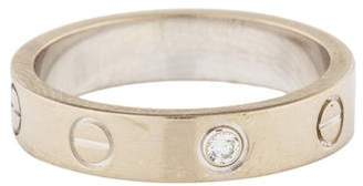 Cartier Diamond LOVE Wedding Band