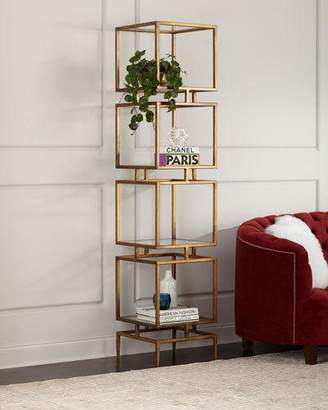 John-Richard Collection Modernist Cube Etagere
