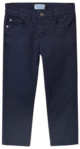 Navy 5 Pocket Trousers