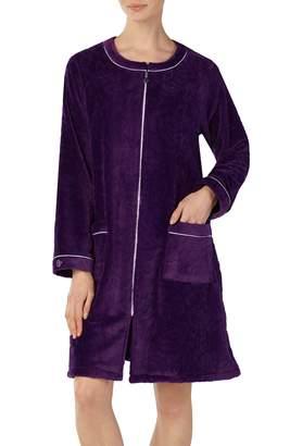 Eileen West Short Fleece Robe