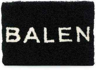 Balenciaga Shearling Pouch