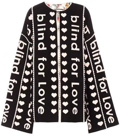 Gucci Jacquard wool coat