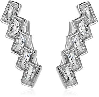 Shashi Baguette Climber Earrings