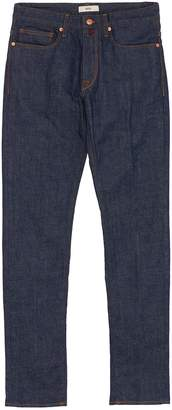 Incotex Raw skinny jeans