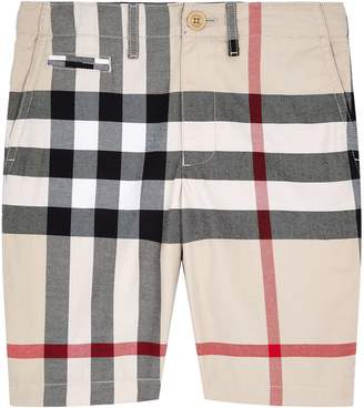 Burberry Check Pocket Shorts