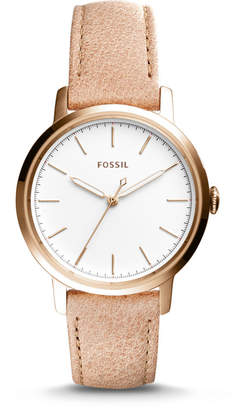 Fossil Neely Three-Hand Sand Leather Watch