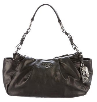 prada Prada Nappa Leather Hobo