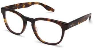 Barton Perreira Men's Byron Universal Fit Square Optical Frames, Chestnut
