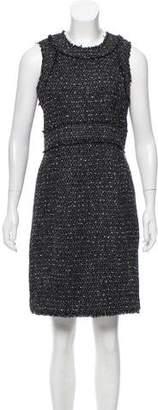MICHAEL Michael Kors Bouclé Knee-Length Dress