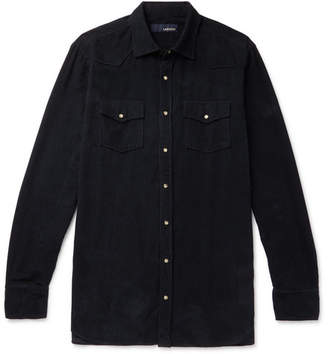 Lardini Cotton-Corduroy Western Shirt