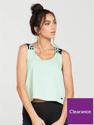 Nike Training Crossover Tank Top - Mint