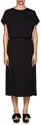 The Row Women's Cyde Stretch-Silk Midi-Dress - Black
