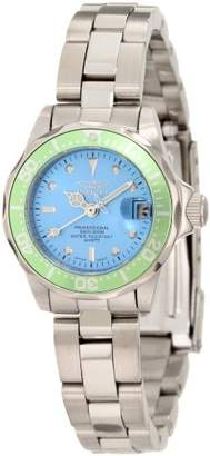 Invicta Women's 11438 Pro Diver Mini Dial Stainless Steel Watch