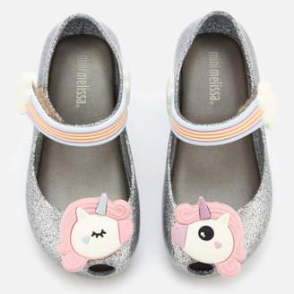 d4b9527ac1 Mini Melissa Toddlers' Ultragirl Unicorn 20 Ballet Flats