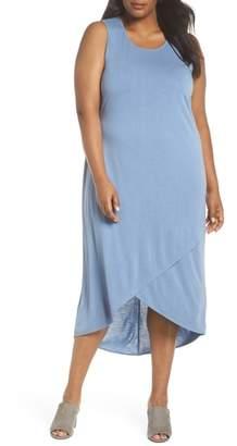 Nic+Zoe Boardwalk Jersey High/Low Dress