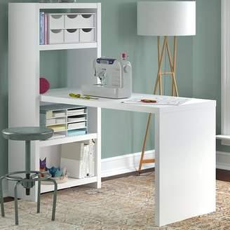 Kathy Ireland Office by Bush Leonila Wood Sewing Table