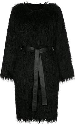 Nili Lotan faux fur shaggy coat