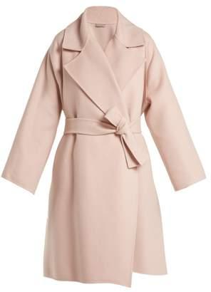 Bottega Veneta Double Faced Cashmere Coat - Womens - Light Pink