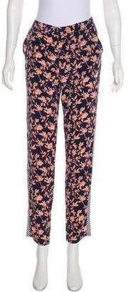 Joie Silk Mid-Rise Pants
