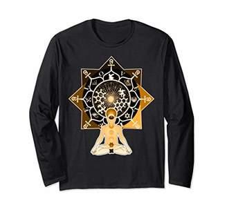Divine Mind awakening | Sacred Geometry Long Sleeve Shirt