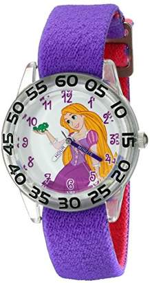 Disney Kids' W001952 Rapunzel Analog Display Analog Quartz Watch