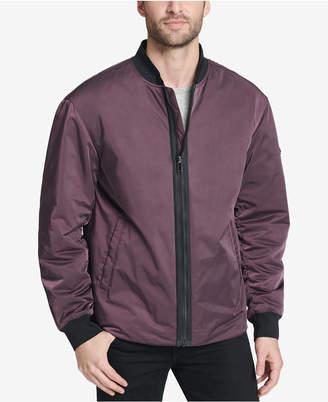 DKNY Men's Utility Bomber Jacket