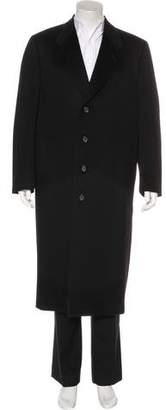 Canali Single Breasted Cashmere Peacoat