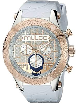 Mulco Men's MW5-2331-413 Couture Analog Display Swiss Quartz Blue Watch