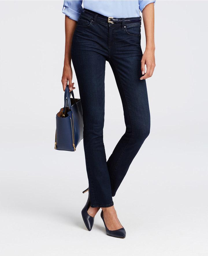 Ann TaylorPetite Modern Slim Denim Jeans