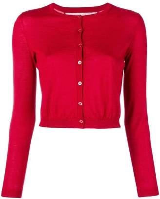 RED Valentino crew neck knit cardigan
