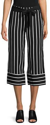 INC International Concepts Petite Striped Culottes