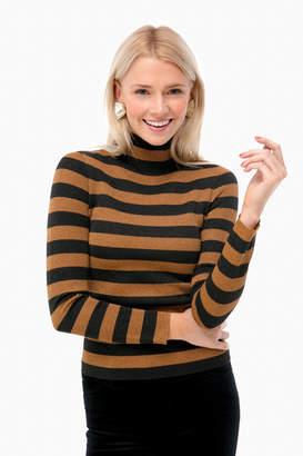 Alice + Olivia Roberta Metallic Sweater