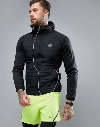 Jack and Jones Tech Quilted Jacket with Hood