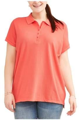 Cherokee Women's Plus Polo Shirt