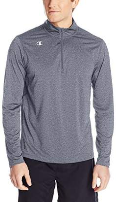 Champion Men's Quarter-Zip Double Dry Pullover Top
