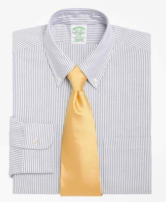 Brooks Brothers Milano Slim-Fit Dress Shirt, Stripe
