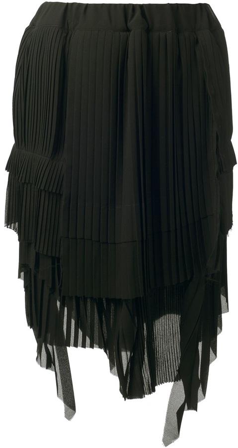 Zucca knife pleat dress
