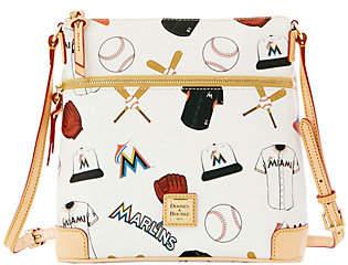 Dooney & Bourke MLB Marlins Crossbody