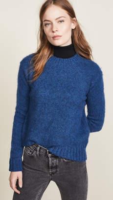 Helmut Lang Brushed Crew Neck Sweater