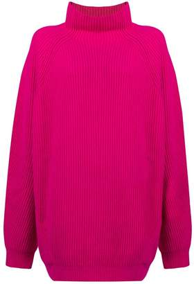 Cavallini Erika oversized funnel-neck jumper