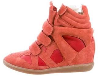 Isabel Marant Beckett Platform Sneakers